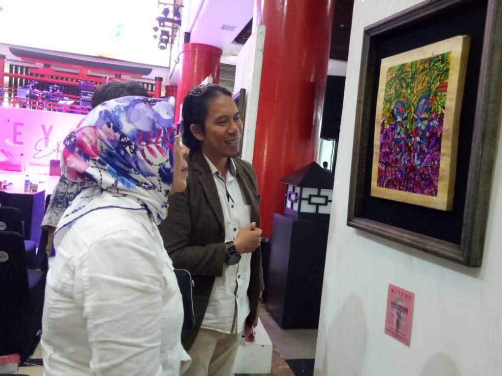 Kadis Kebudayaan Kota Makassar Membuka Pameran Karya Studi Mahasiswa Unismuh Beyond Exhibition